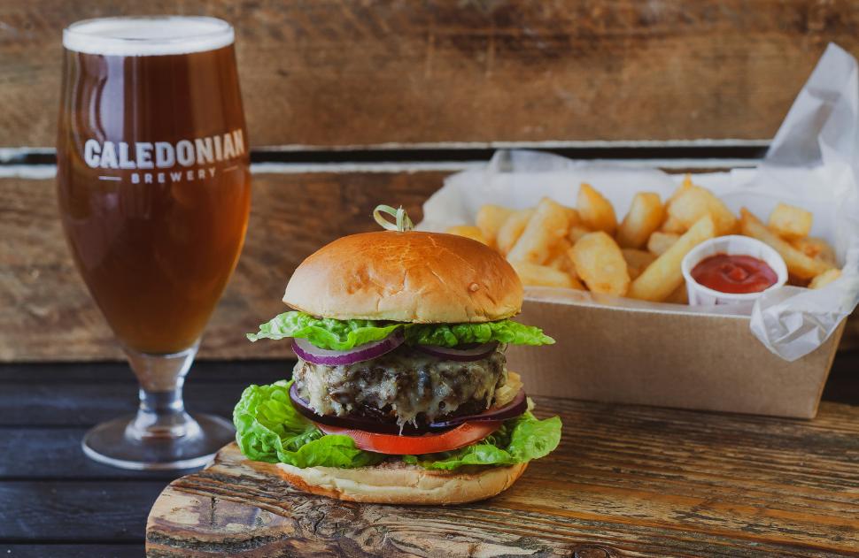Well Hung & Tender Burger & Beer Package
