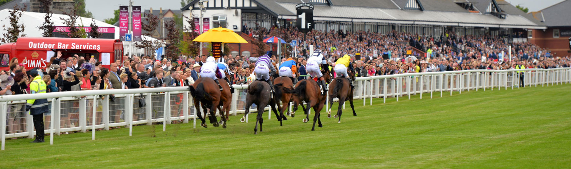 We are proud to be one of the five racecourses in Scotland